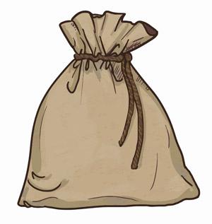 hessian-sack